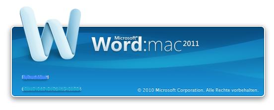 Word auf Mac schneller starten